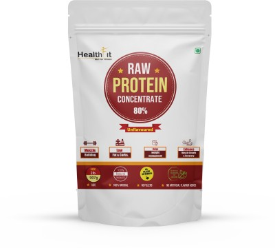 HealthFit Whey Protein Supplements Powder 80% (30 Servings)(907 g)  available at flipkart for Rs.1799