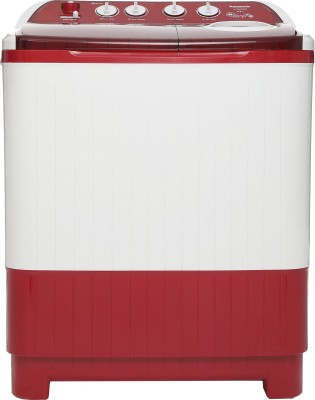 Panasonic 8.5 kg Semi Automatic Top Load Washing Machine White, Red(NA-W85G4RRB) (Panasonic)  Buy Online