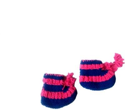 FCSS Booties(Toe to Heel Length - 7 cm, Blue, Pink)