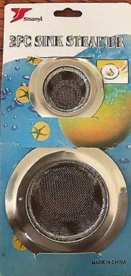 Sukot kitchen sink Strainer(Silver Pack of 2) at flipkart