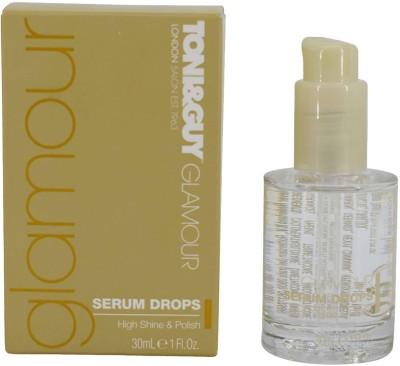 Toni&Guy Glamour Serum Drops, Shine & Anti-Fizz - 30ml (1oz)(30 ml)