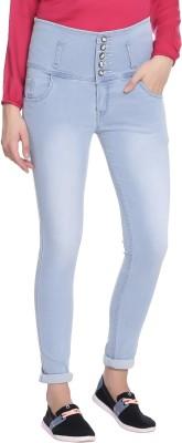 Broadstar Slim Women Light Blue Jeans at flipkart