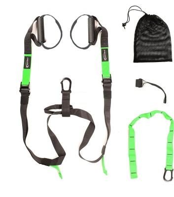 JoyFit Suspension Trainer With Door Anchor Gym   Fitness Kit