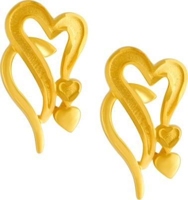 PC Chandra Jewellers Yellow Gold 10kt Stud Earring