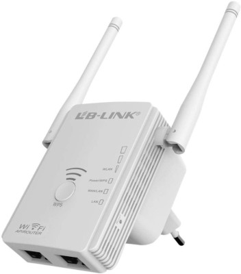 LB-LINK 300Mbps Wireless Access Point Universal WiFi Range Extender Router Antenna Booster  available at flipkart for Rs.2299