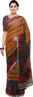 The Fashion Outlets Printed Daily Wear Chiffon, Faux Georgette Saree(Multicolor)