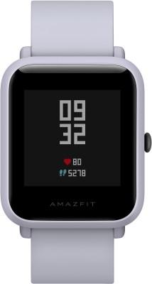 Huami Amazfit Bip Smartwatch(White Strap, Regular)