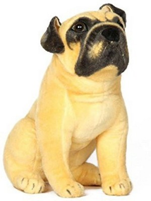Misheema Creations Gifted Dog Soft Toy   30 cm Yellow Misheema Creations Soft Toys