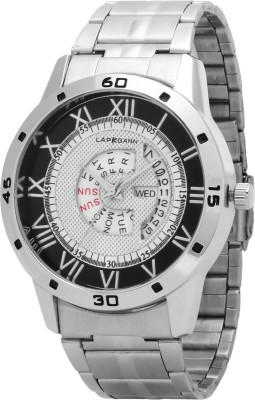 Lapkgann Couture I.D.D.C 02 New Exceptional white dial silver chain strap analog wrist Watch  - For Men