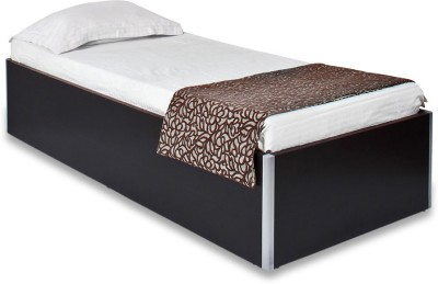 Spacewood Engineered Wood Single Box Bed(Finish Color -  Natural Wenge)