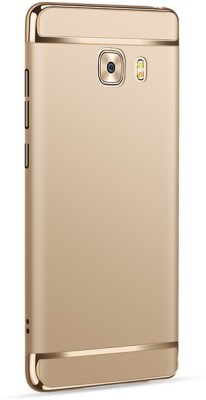Novo Style Back Cover for Samsung Galaxy C9 Pro(Gold, Metal, Plastic)
