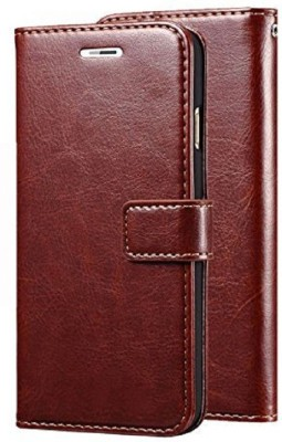 TruVic Flip Cover for Honor Holly 3(Brown, Leather)