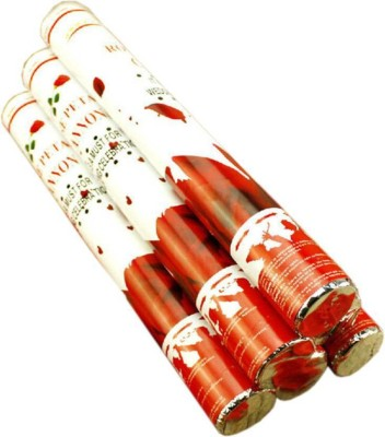 Arvel Streamer(Red, Pack of 4)