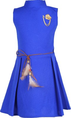 Women A line Blue Dress