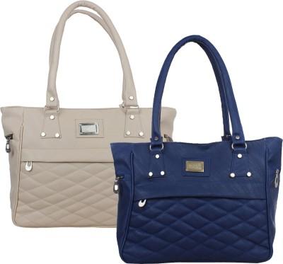 Element Cart Hand-held Bag(Blue, Grey)