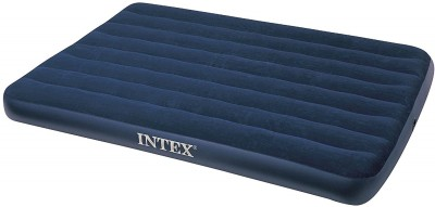 Intex PVC 2 Seater Inflatable Sofa(Color - Blue)
