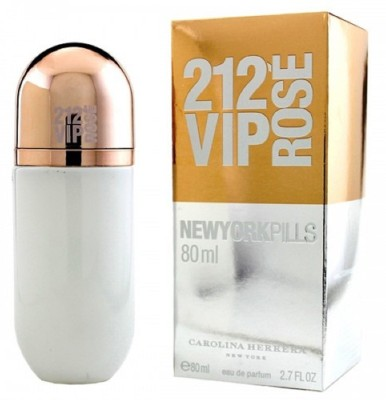 VIP 212 NEW YORK PILLS (Import Unbox) Eau de Parfum  -  80 ml(For Women)