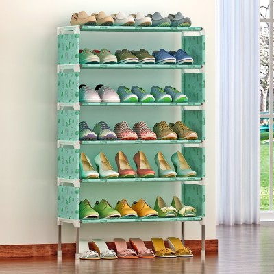 FurnCentral Metal Shoe Stand(6 Shelves)