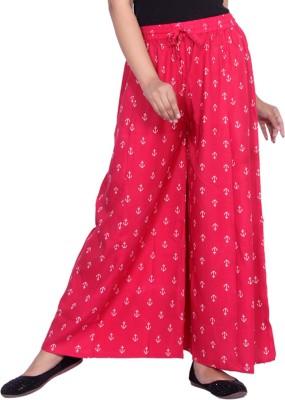 Aawari Regular Fit Women Red Trousers