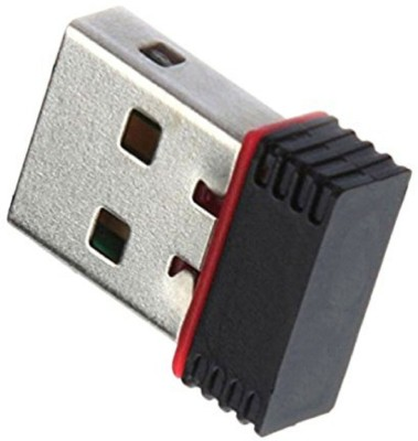 Shopfloor.XYZ USB Wireless Mini Wifi Dongle Nano Adaptor 2.4GHz 500mbps Speed USB Adapter USB Adapter Multicolor