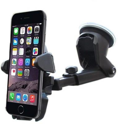 Buy Genuine Car Mobile Holder for Windshield, Dashboard(Black)