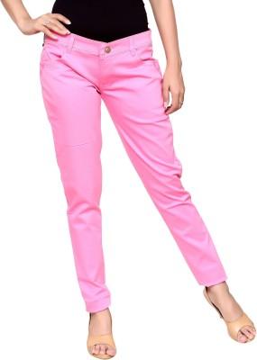 ORIEX Slim Women Pink Jeans