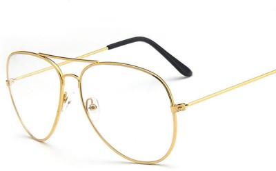 Mode Aviator Sunglasses(Clear)