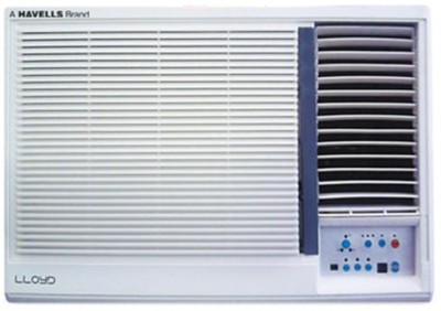 View Lloyd 1.5 Ton 3 Star BEE Rating 2018 Window AC  - White(LW19A30PP, Copper Condenser)  Price Online