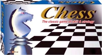 Bonkerz CHESS STRATEGIC BOARD GAME JUNIOR 20 cm Chess Board(Multicolor)