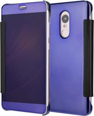 SAITRADERS Flip Cover for Mi Redmi Note 3(Blue, Hard Case, Fiber)