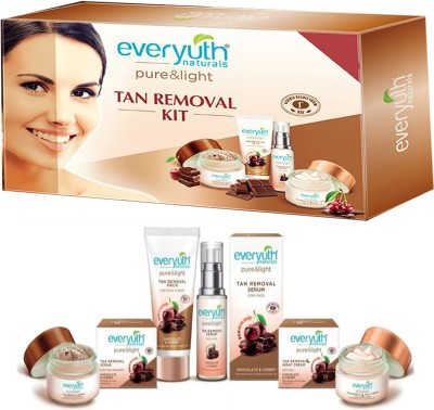 EVERYUTH NATURALS TAN REMOVAL KIT 250 GM(230 g)