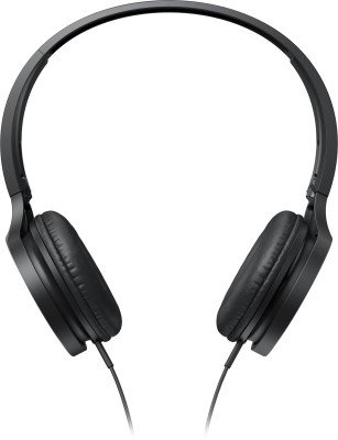 Panasonic RP-TCM115E-K Wired Headset with Mic(Black, In the Ear)