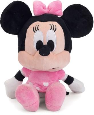 DISNEY Minnie Big Head 10 inch   25 cm Pink DISNEY Soft Toys