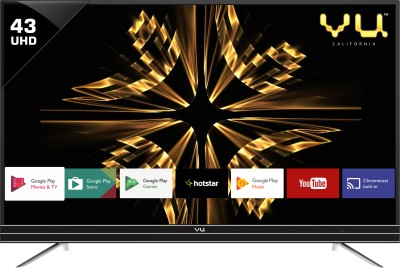 Vu Android 109cm (43 inch) Ultra HD (4K) LED Smart TV(43SU128) (Vu)  Buy Online