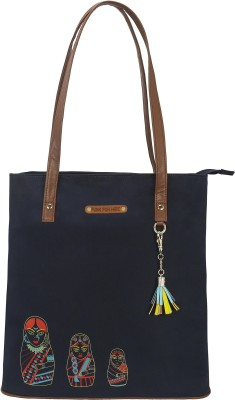 FUNK FOR HIRE Women Blue Tote at flipkart