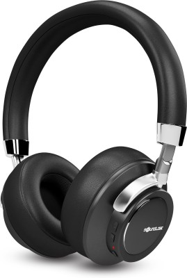 SoundLogic Voice Assistant Wireless Stereo Headphone Bluetooth Headset(Black, Wireless over the head)