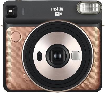 Fujifilm Instax Square SQ6 Blush Gold Instant Camera(Gold)