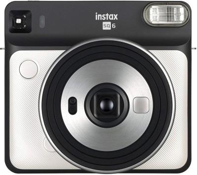 Fujifilm Instax Square SQ6 Pearl White Instant Camera(Gold, White)
