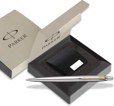 Parker Jotter SS GT Ball pen with Card holder Pen Gift Set
