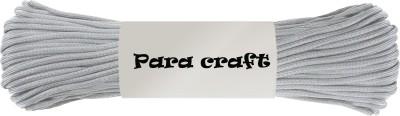 Paracraft 50ft 550 Paracord Parachute Survival Cord - Grey Multicolor(Length: 30 m, Diameter: 4 mm)