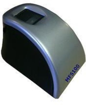 Velentron Optical sensor fingerprint/bio-metric scanner MFS100 Scanner(Silver,Black) at flipkart
