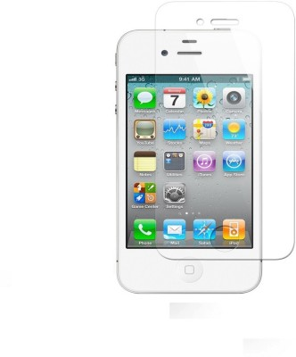 Heartly Tempered Glass Guard for Apple iPhone 4 4S 4G