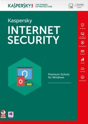 KASPERSKY Internet Security 2018 1 User 1 Year 1PC (Digital Delivery)