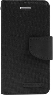 mCase Flip Cover for Micromax Yu Yureka AQ5510 / Yu Yureka Plus(Black, Artificial Leather)