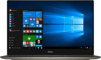 Dell XPS 13 Core i7 8th Gen - (16 GB/512 GB SSD/Windows 10 Home) 9370 Thin and Light Laptop(13.3 inch, Gold, 1.21 kg, With MS Office) 1