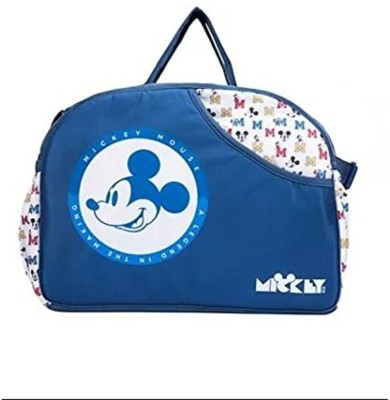 Guru Kripa Baby Products ™ Presents New Born Baby Multypurpose Mother Bag With Holder Diapper Changing Multi Comprtment For Baby Care And Maternity Handbag Diaper Nappy Mama Shoulder Bag Diaper Bag For Baby Multipurpose Waterproof Mother Bag Diaper Bag with Diaper Changing Mat (Nevy Blue) Baby Mothe