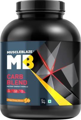 MuscleBlaze Carb Blend (3Kg, Orange)