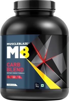 MuscleBlaze Carb Blend (3Kg, Unflavoured)
