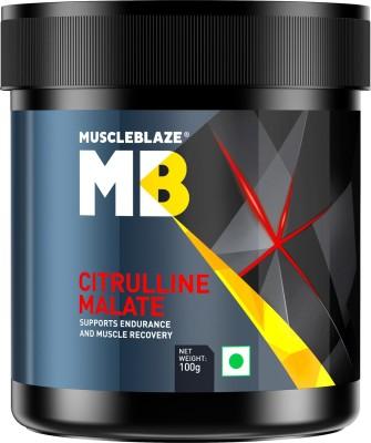 MuscleBlaze Citrulline Malate (0.22 lbs, Unflavoured)