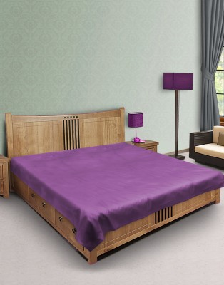 E-Retailer Fitted Queen Size Mattress Protector(Purple)